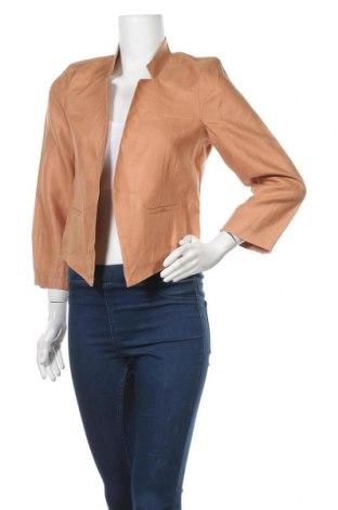 Дамско сако Sussan, Размер S, Цвят Оранжев, Лен, Цена 22,68лв.