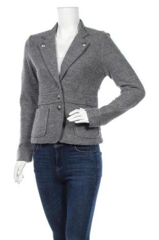 Дамско сако TCM, Размер S, Цвят Сив, Вълна, Цена 23,10лв.