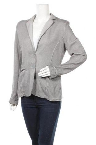 Дамско сако Tom Tailor, Размер L, Цвят Сив, Памук, Цена 17,96лв.