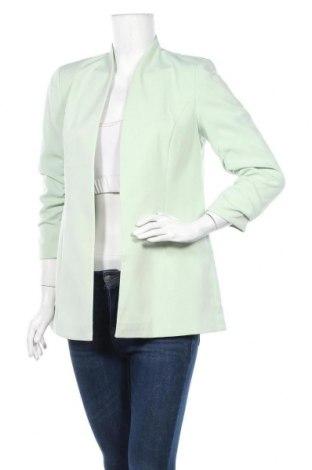 Дамско сако Vila, Размер M, Цвят Зелен, 95% полиестер, 5% еластан, Цена 26,22лв.