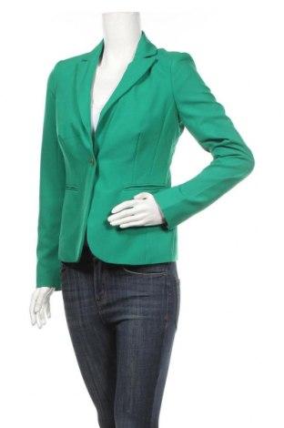 Дамско сако Yessica, Размер S, Цвят Зелен, Полиестер, Цена 27,93лв.