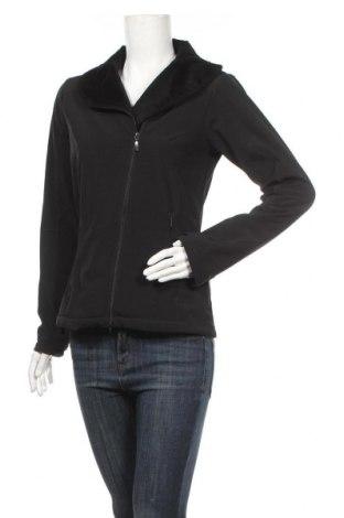 Дамско спортно яке, Размер S, Цвят Черен, 92% полиестер, 8% еластан, Цена 18,43лв.