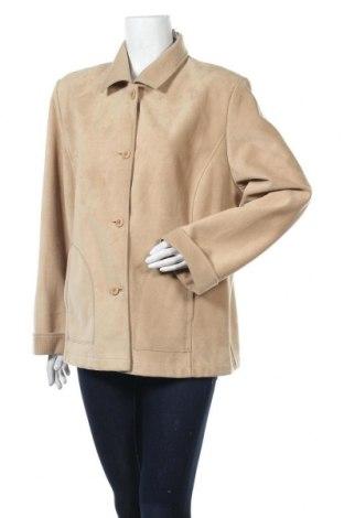 Дамско яке, Размер XL, Цвят Бежов, Полиестер, Цена 17,01лв.