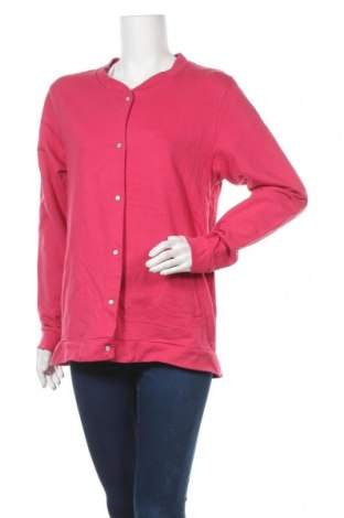 Дамско яке, Размер XL, Цвят Розов, Памук, Цена 6,65лв.