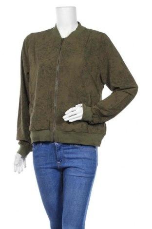 Дамско яке B Collection, Размер L, Цвят Зелен, Полиестер, еластан, Цена 8,14лв.