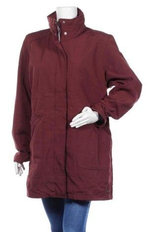 Дамско яке, Размер XXL, Цвят Червен, Полиестер, Цена 43,05лв.
