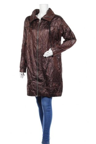 Дамско яке, Размер M, Цвят Кафяв, 52% памук, 41% полиестер, 7% метални нишки, Цена 8,94лв.