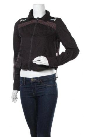 Дамско яке, Размер M, Цвят Кафяв, 97% памук, 3% еластан, Цена 9,42лв.