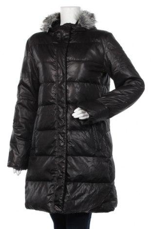 Дамско яке Tigoua, Размер M, Цвят Черен, Полиестер, пух и пера, Цена 80,85лв.