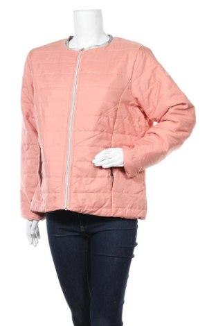 Дамско яке, Размер XL, Цвят Розов, Полиестер, Цена 20,16лв.