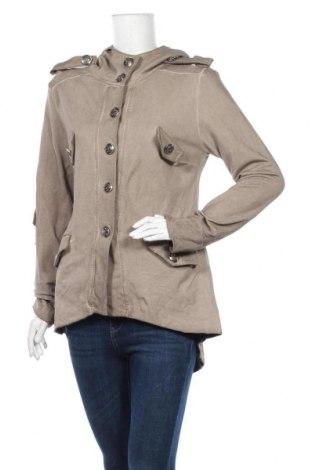 Дамско яке, Размер L, Цвят Кафяв, 95% памук, 5% еластан, Цена 8,66лв.
