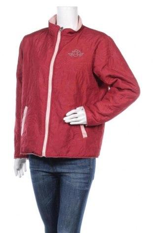Дамско яке Anne De Lancay, Размер M, Цвят Червен, 100% полиестер, Цена 16,07лв.