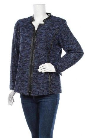 Дамско яке Blue Illusion, Размер L, Цвят Син, 60% памук, 40% полиестер, Цена 19,95лв.