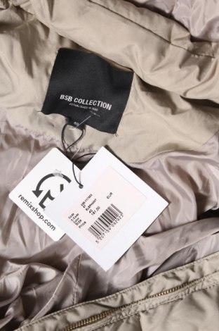 Дамско яке Bsb Collection, Размер M, Цвят Бежов, Полиестер, Цена 149,25лв.