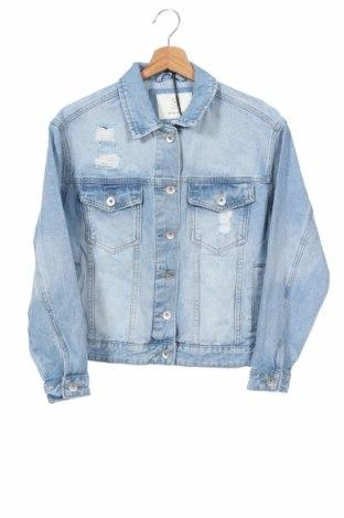 Дамско яке Cotton On, Размер XS, Цвят Син, 95% памук, 5% вискоза, Цена 43,37лв.