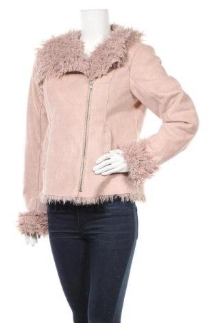 Дамско яке Cream, Размер L, Цвят Розов, 100% полиестер, Цена 30,40лв.