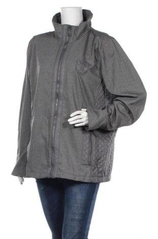 Γυναικείο μπουφάν Damart, Μέγεθος 3XL, Χρώμα Γκρί, 77% πολυεστέρας, 18% βισκόζη, 5% ελαστάνη, Τιμή 26,41€