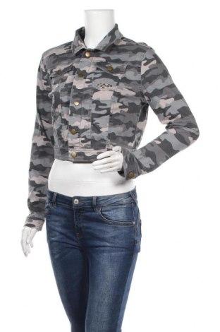 Дамско яке Girl Xpress, Размер M, Цвят Многоцветен, Памук, еластан, Цена 9,45лв.