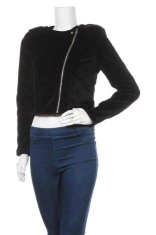 Дамско яке H&M, Размер M, Цвят Черен, 65% памук, 35% вискоза, Цена 13,44лв.
