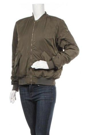 Дамско яке H&M, Размер XS, Цвят Зелен, Полиестер, Цена 11,03лв.