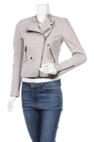 Дамско яке H&M Divided, Размер S, Цвят Сив, Вискоза, полиуретан, Цена 41,90лв.