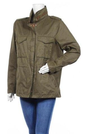 Дамско яке H&M L.O.G.G., Размер M, Цвят Зелен, 64% памук, 29% полиестер, 7% полиамид, Цена 16,80лв.