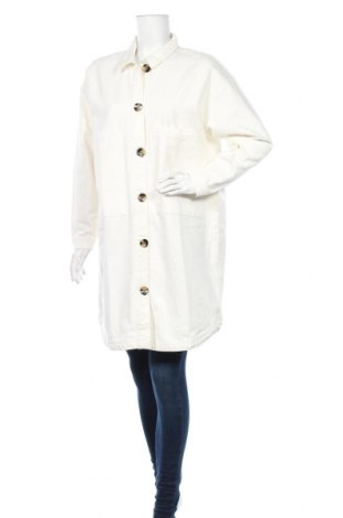 Дамско яке Jacqueline De Yong, Размер M, Цвят Бял, Памук, Цена 31,00лв.