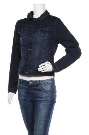Дамско яке Jeans West, Размер M, Цвят Син, 76% памук, 22% полиестер, 2% еластан, Цена 16,38лв.