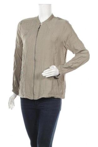 Дамско яке Jeanswest, Размер M, Цвят Зелен, 80% вискоза, 20% полиамид, Цена 15,12лв.