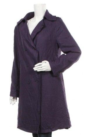 Дамско палто Lee Cooper, Размер XL, Цвят Лилав, 50% вискоза, 45% вискоза, 5% еластан, Цена 28,67лв.