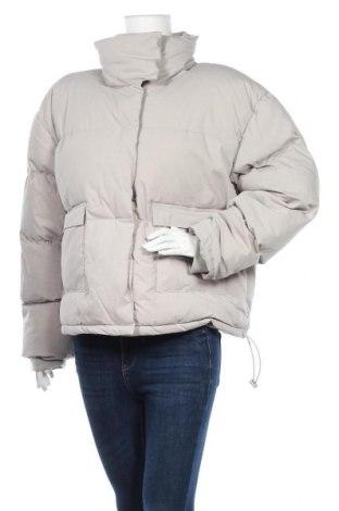 Дамско яке Missguided, Размер L, Цвят Сив, 65% памук, 35% полиестер, Цена 74,25лв.
