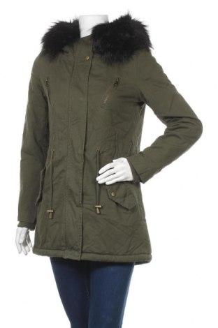 Дамско яке Softy, Размер S, Цвят Зелен, 100% памук, Цена 35,49лв.