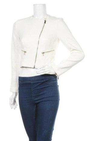 Γυναικείο μπουφάν Pimkie, Μέγεθος XS, Χρώμα Λευκό, 85% πολυεστέρας, 10% βισκόζη, 5% ελαστάνη, Τιμή 21,43€