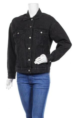 Дамско яке Pull&Bear, Размер S, Цвят Черен, 75% памук, 19% полиестер, 6% вискоза, Цена 39,90лв.