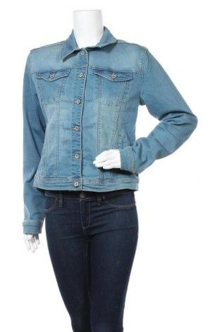 Дамско яке, Размер XL, Цвят Син, 81% памук, 17% полиестер, 2% еластан, Цена 33,60лв.