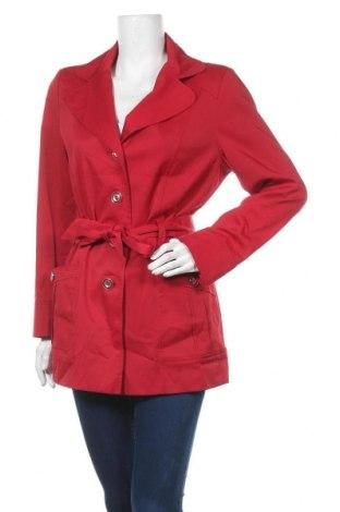 Дамско яке Rockmans, Размер M, Цвят Червен, 60% полиестер, 37% памук, 3% еластан, Цена 12,01лв.