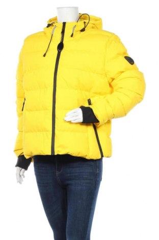 Дамско яке Superdry, Размер XL, Цвят Жълт, Полиестер, Цена 181,50лв.