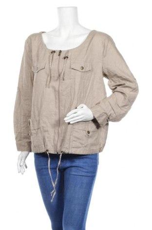 Дамско яке Suzanne Grae, Размер M, Цвят Бежов, Лен, памук, Цена 9,45лв.
