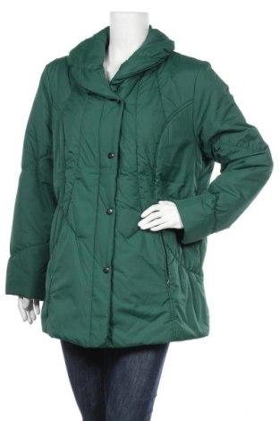 Дамско яке Ulla Popken, Размер L, Цвят Зелен, Полиестер, Цена 33,60лв.