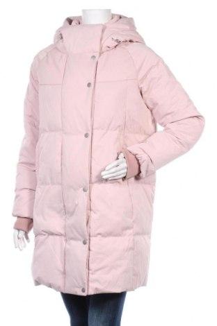 Γυναικείο μπουφάν Zara, Μέγεθος S, Χρώμα Ρόζ , Πολυεστέρας, φτερά και πούπουλα, Τιμή 47,17€