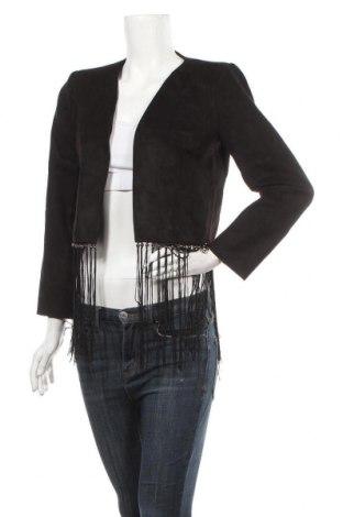 Дамско яке Zara, Размер M, Цвят Кафяв, 90% полиестер, 10% еластан, Цена 13,97лв.