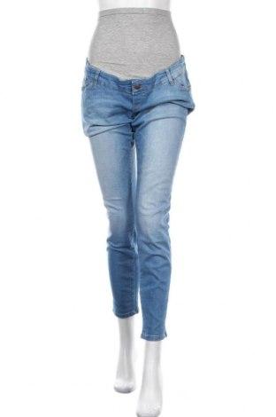 Дънки за бременни Mamalicious, Размер XL, Цвят Син, 98% памук, 2% еластан, Цена 41,60лв.