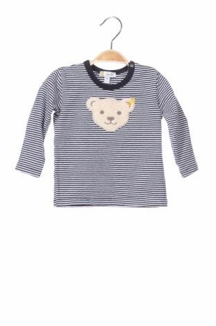 Παιδική μπλούζα Steiff, Μέγεθος 6-9m/ 68-74 εκ., Χρώμα Μπλέ, 95% βαμβάκι, 5% ελαστάνη, Τιμή 13,92€