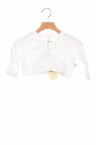 Παιδική ζακέτα Name It, Μέγεθος 2-3y/ 98-104 εκ., Χρώμα Λευκό, 95% βαμβάκι, 5% ελαστάνη, Τιμή 5,67€