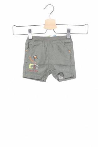 Παιδικό κοντό παντελόνι La Compagnie des Petits, Μέγεθος 3-6m/ 62-68 εκ., Χρώμα Πράσινο, 58% λινό, 42% βαμβάκι, Τιμή 7,48€