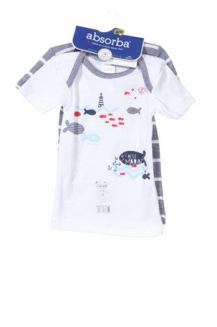 Παιδικό σύνολο Absorba, Μέγεθος 12-18m/ 80-86 εκ., Χρώμα Λευκό, Βαμβάκι, Τιμή 15,08€