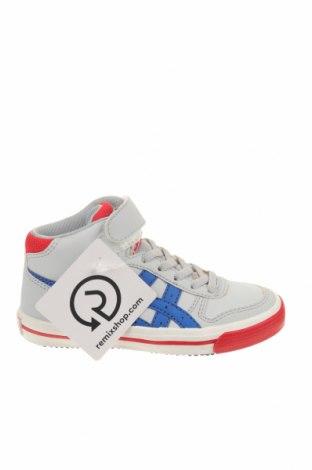 Детски обувки ASICS, Размер 27, Цвят Сив, Еко кожа, Цена 39,50лв.