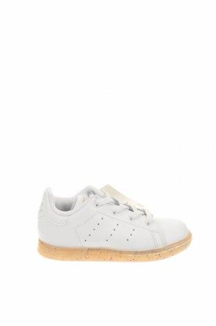 Παιδικά παπούτσια Adidas Originals, Μέγεθος 25, Χρώμα Λευκό, Γνήσιο δέρμα, Τιμή 44,78€