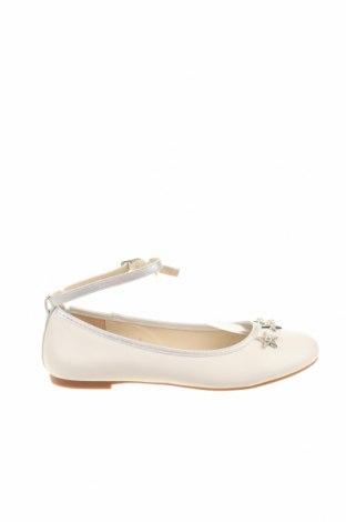 Παιδικά παπούτσια Bata, Μέγεθος 35, Χρώμα Λευκό, Δερματίνη, Τιμή 18,22€