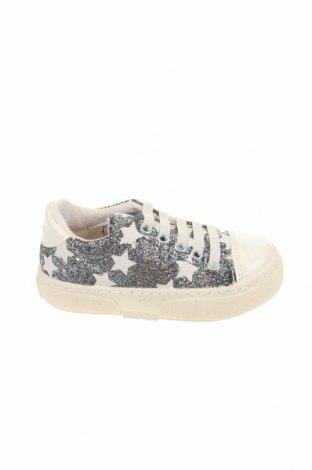 Παιδικά παπούτσια Bata, Μέγεθος 26, Χρώμα Ασημί, Κλωστοϋφαντουργικά προϊόντα, Τιμή 22,81€